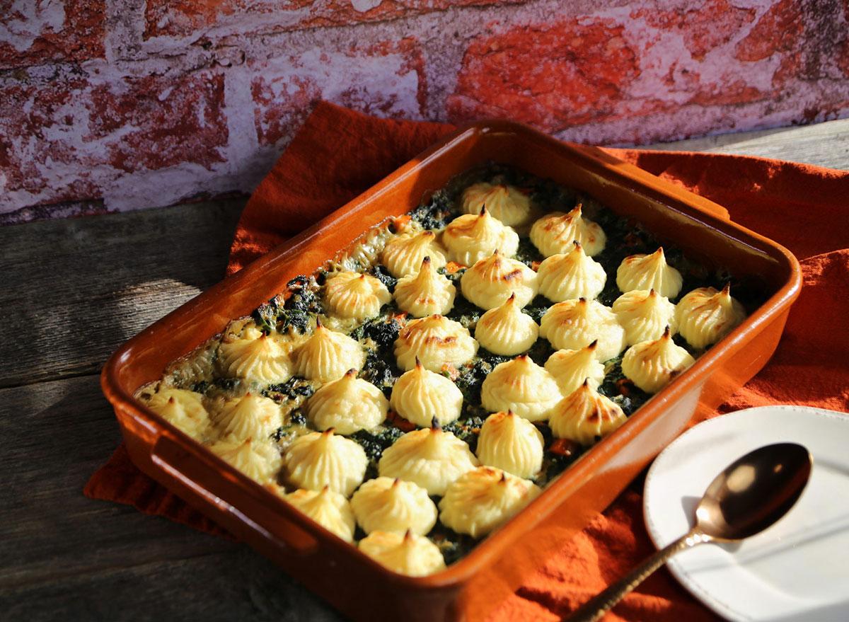 parsnip spinach shepherds pie