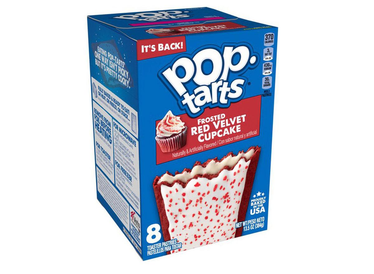 pop tarts red velvet cupcake