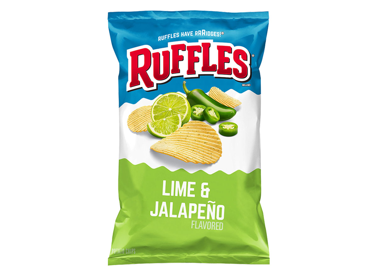 ruffles lime and jalapeno