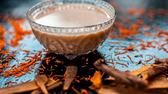 Saffron coffee