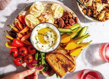 shelly worcel salad snack spread recipe