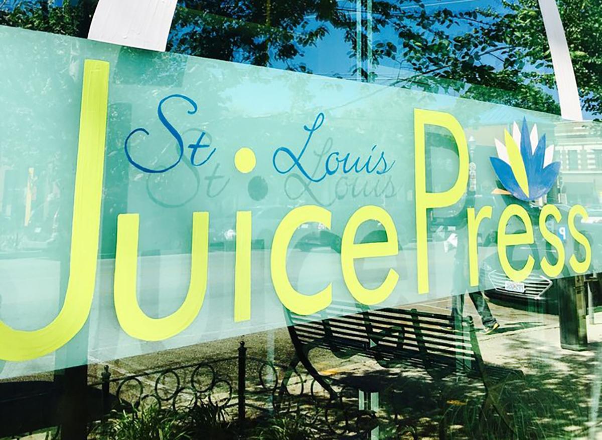 st louis juice press outdoor sign