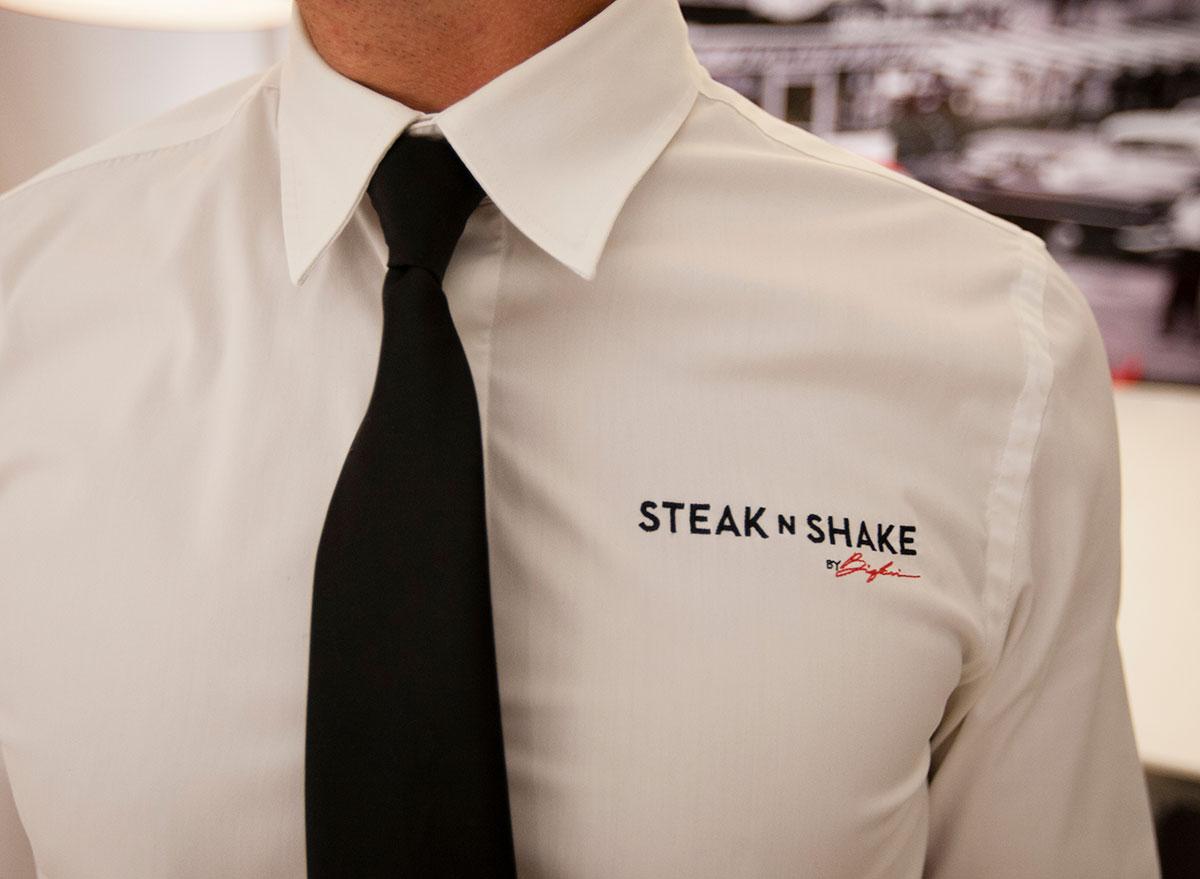 steak n shake waiter