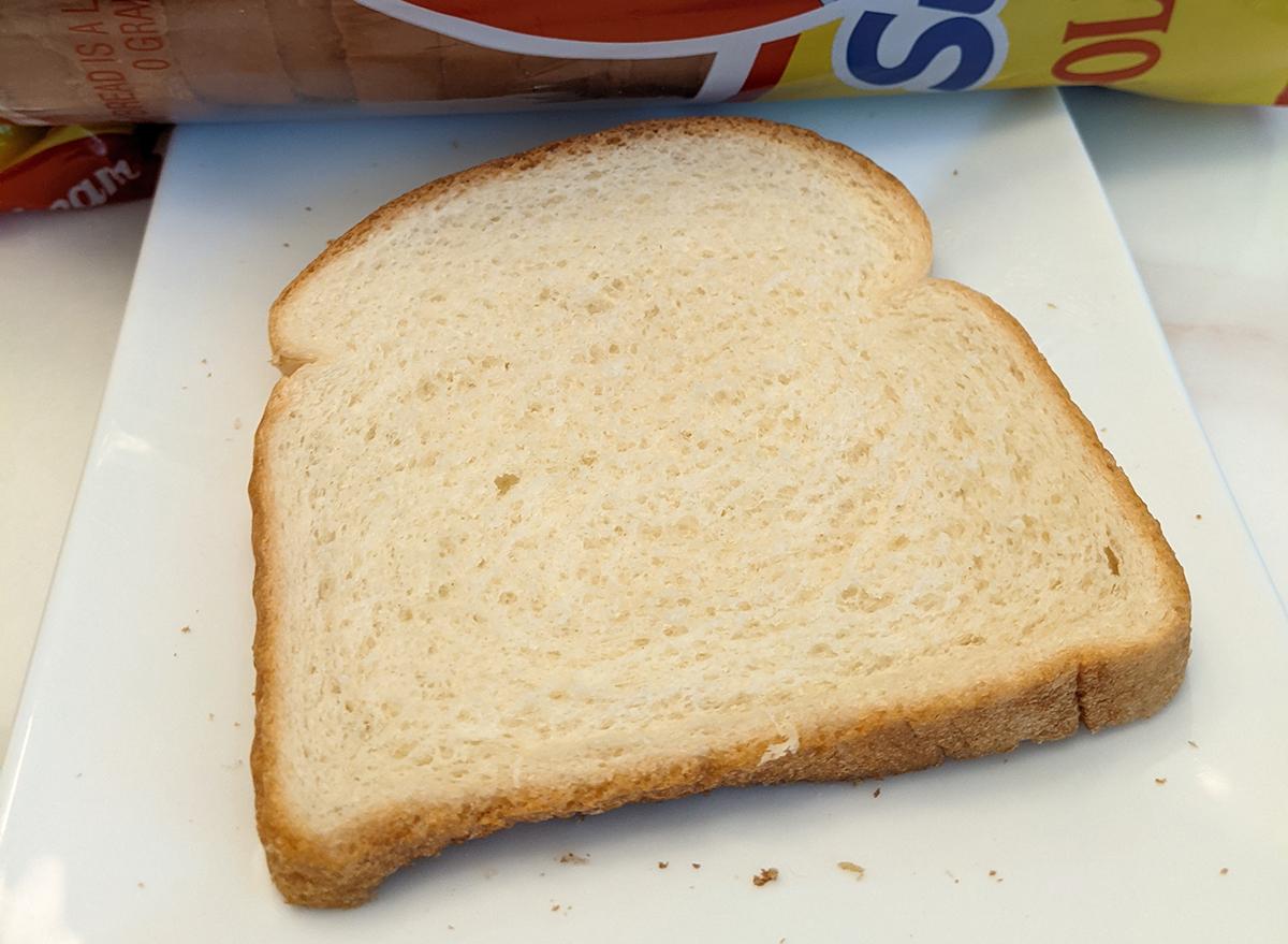 sunbeam white bread slice
