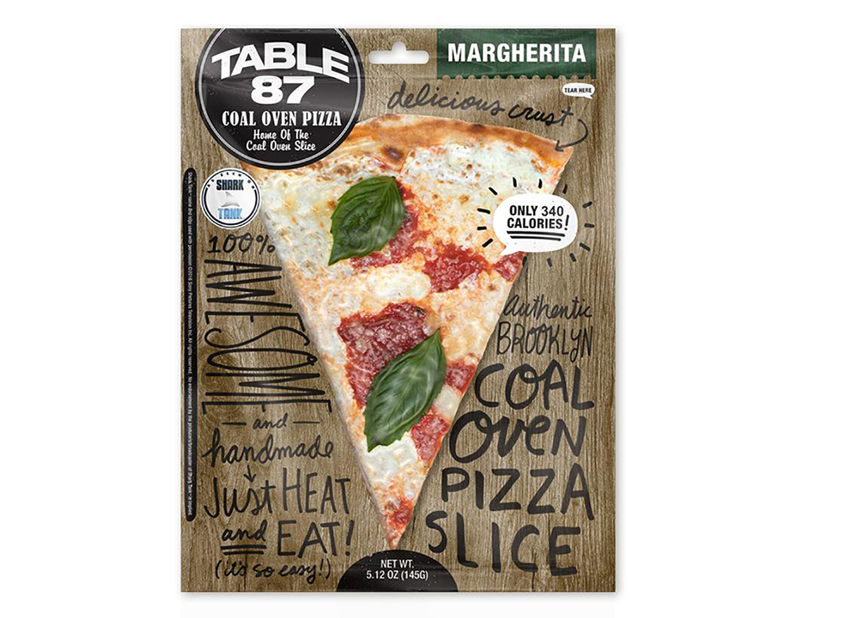 table 87 frozen margherita pizza