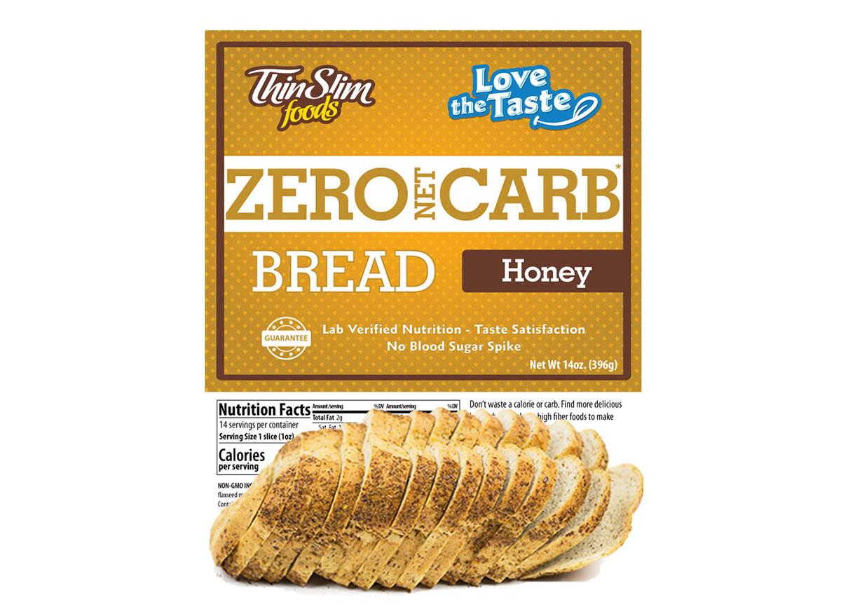 thin slim foods honey bread