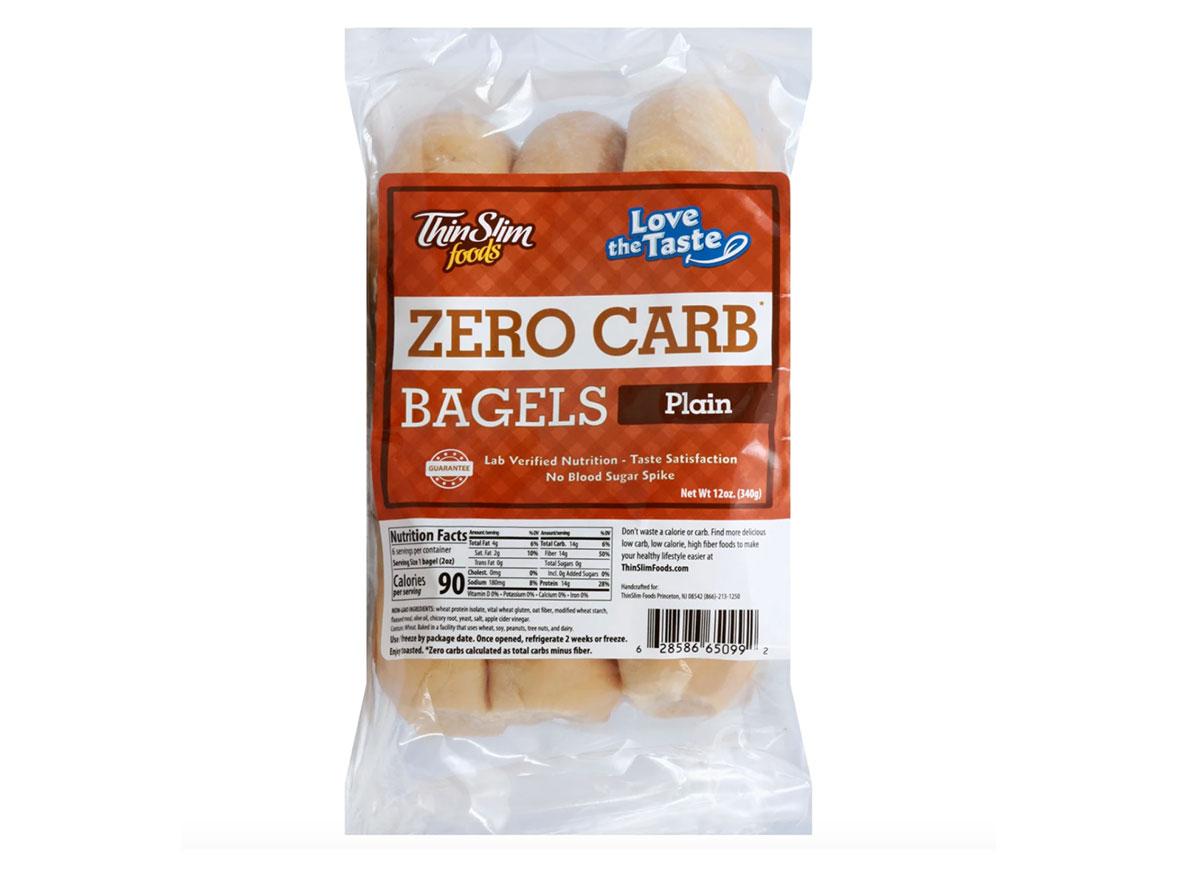 thin slim foods zero carb bagels
