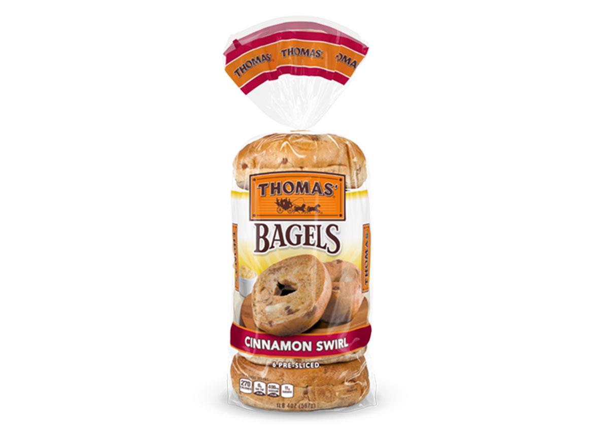 thomas bagels cinnamon swirl