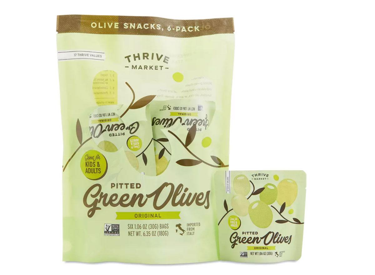 thrive market green olives