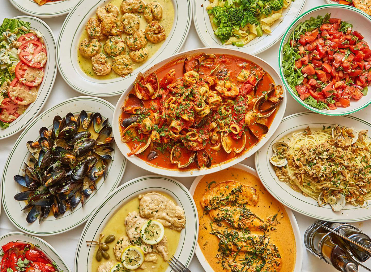 dishes from tonys di napoli