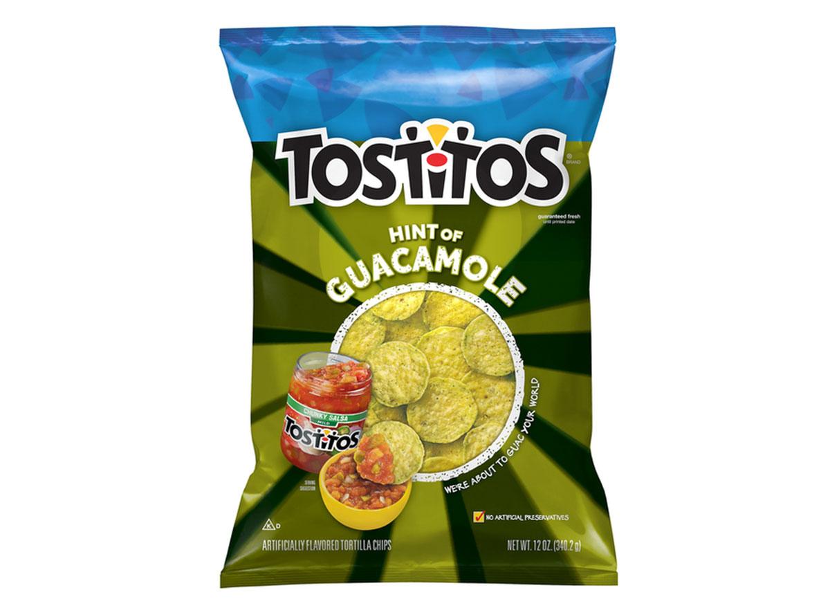 tostitos hint of guacamole