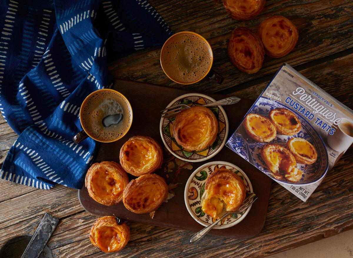 trader joes custard tarts