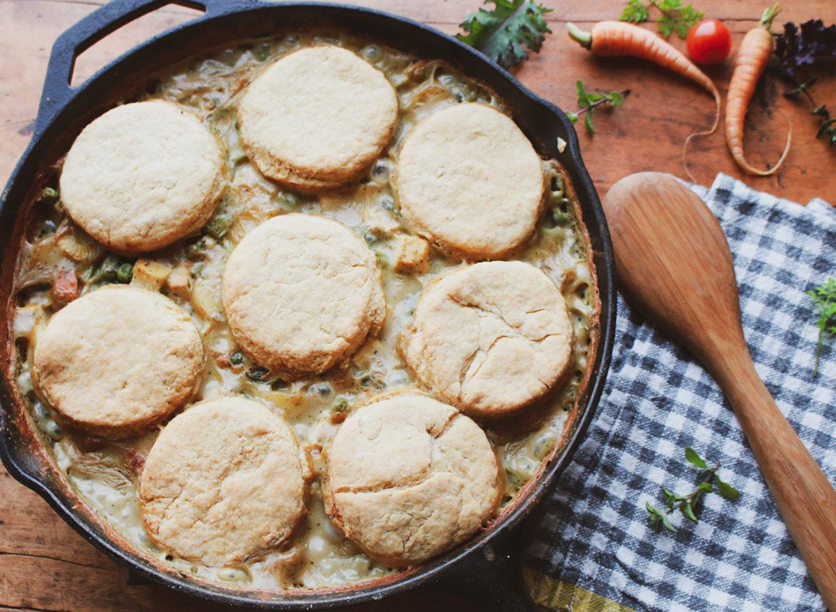 vegetable chicken pot pie
