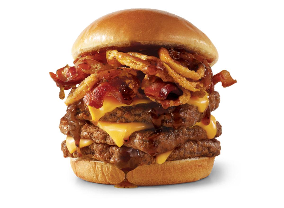 wendys bourbon bacon cheeseburger
