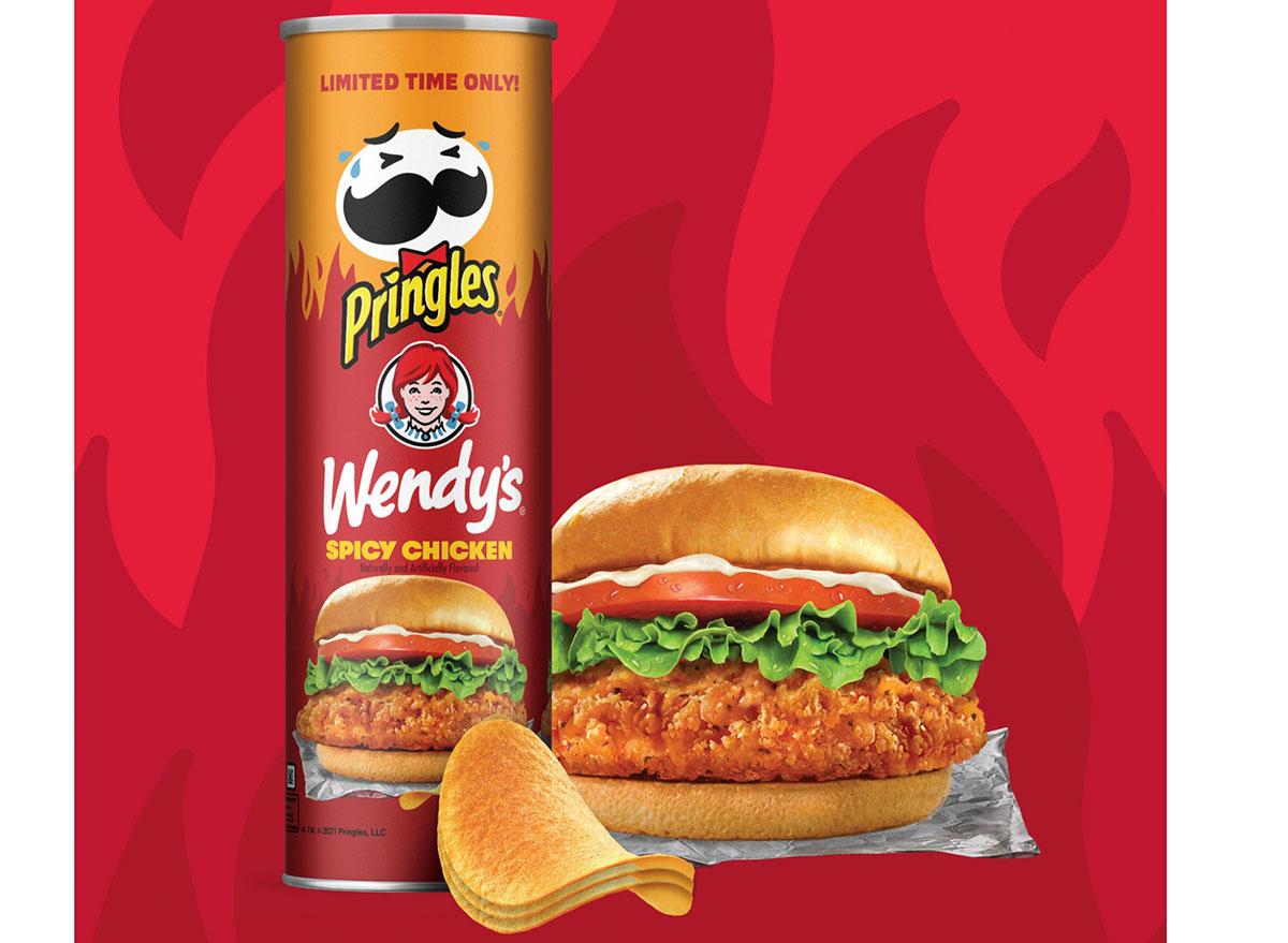 wendys pringles chicken sandwich