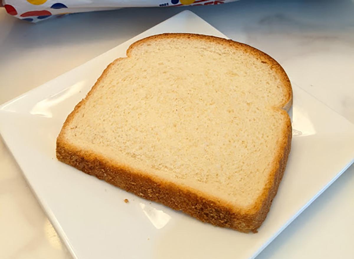 slice of wonder bread