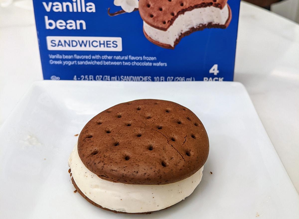 yasso ice cream sandwich