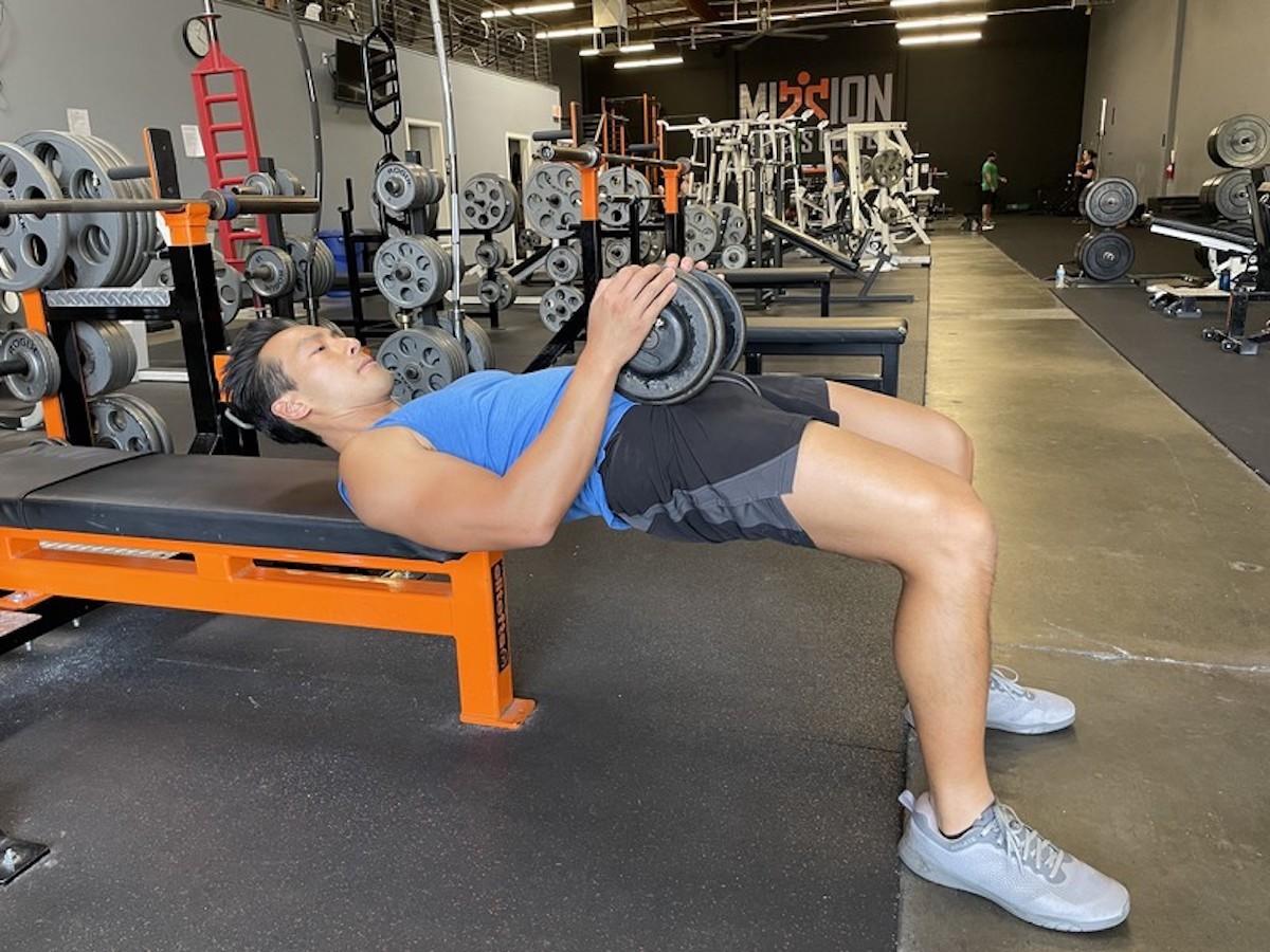 1 hip thrust exercise