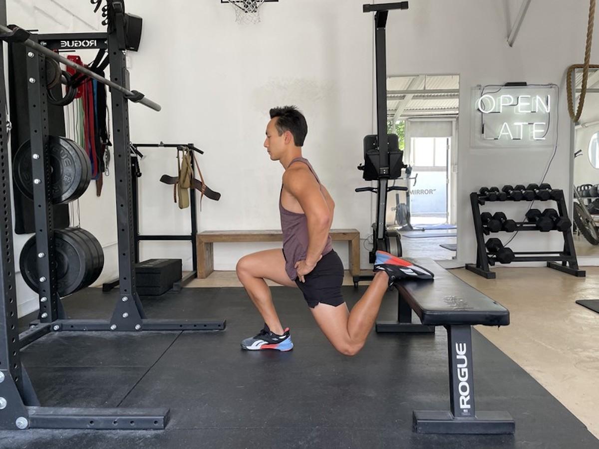 3 bulgarian split squat