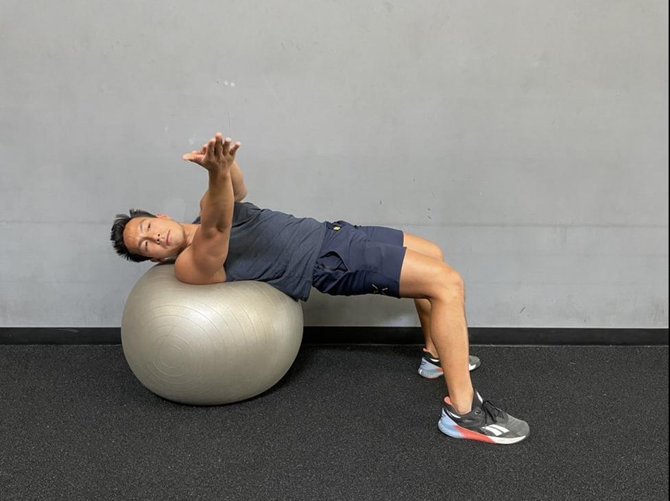 4 - stability ball r twist
