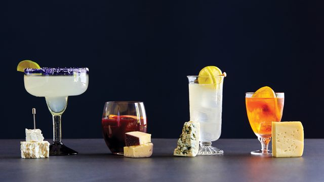 cocktail and cheese pairings