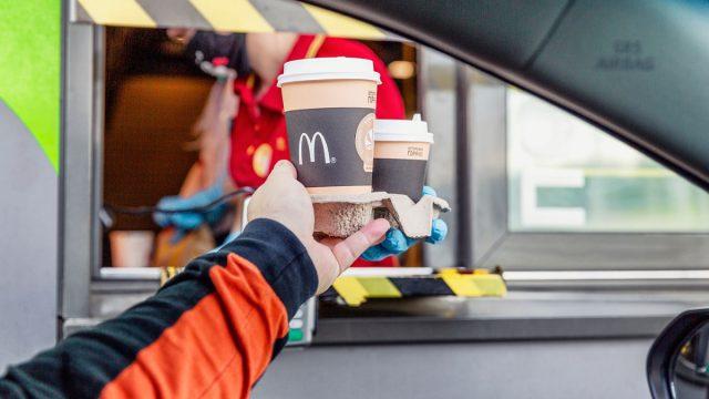 McDonald's coffee drink