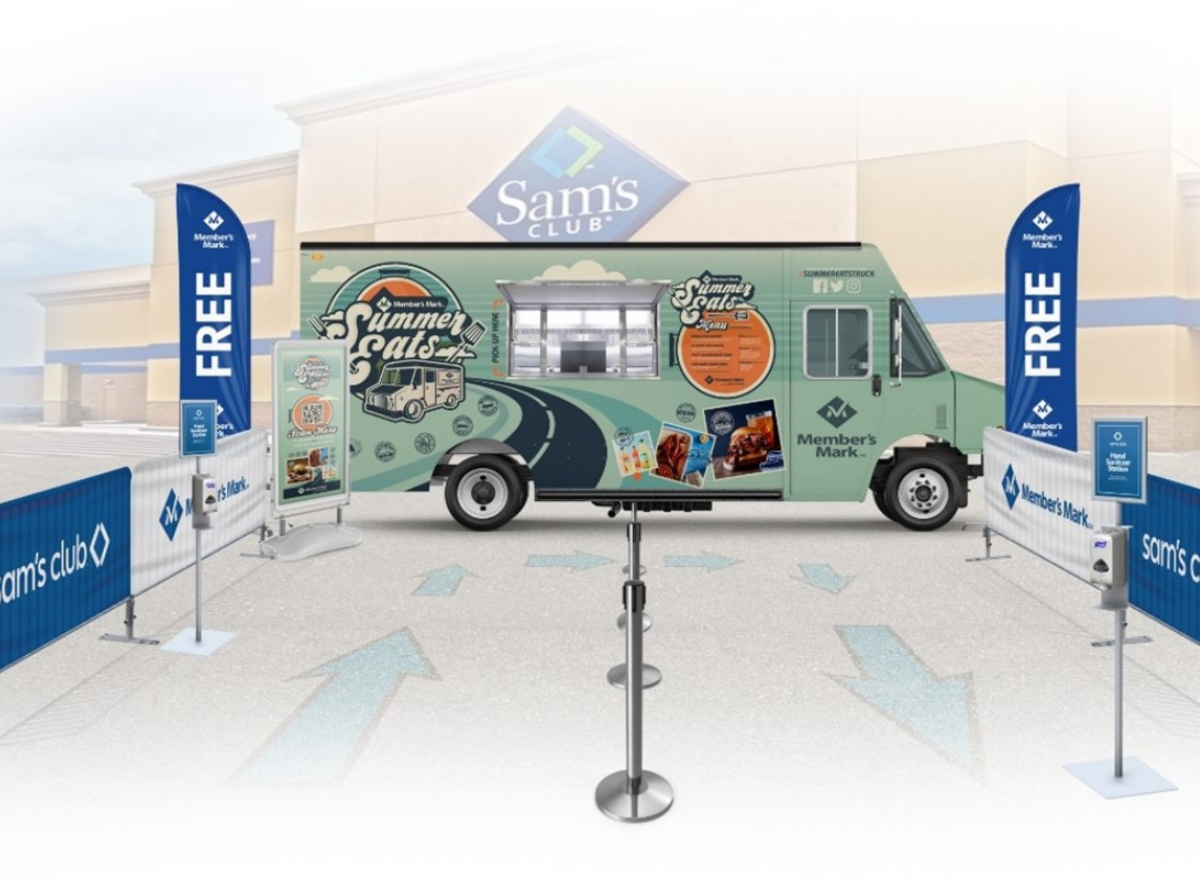 Sam's Club Food Truck