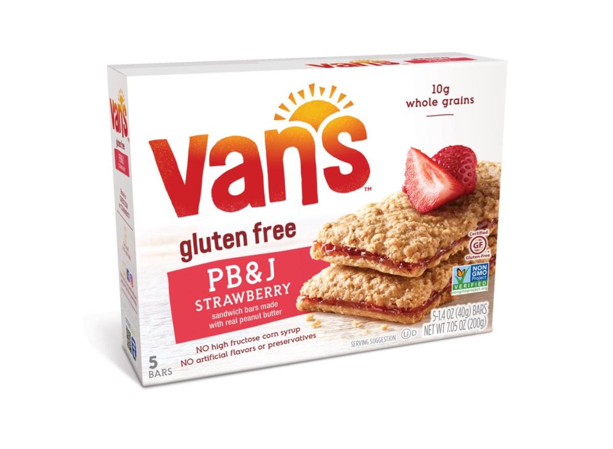 Van's PB&J Sandwich Bars