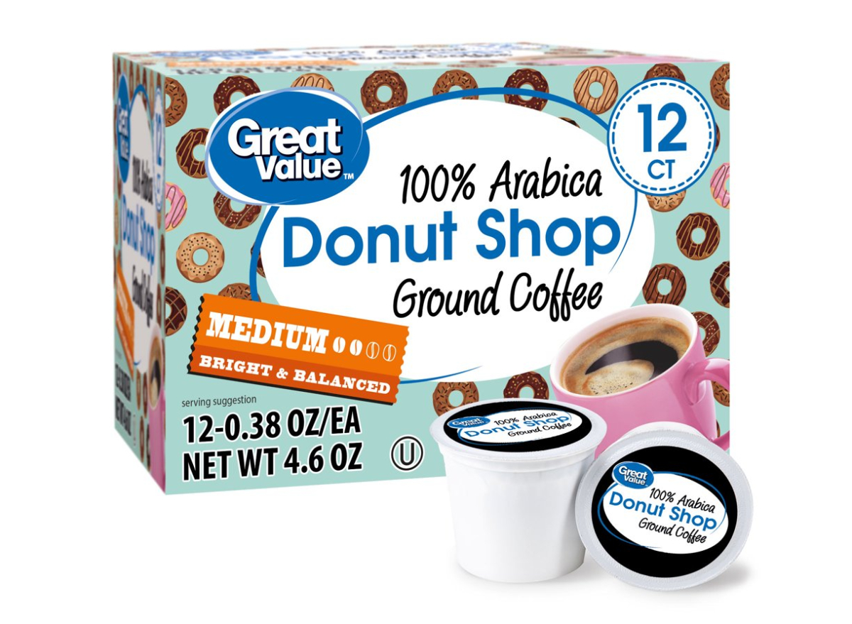 Great Value Coffee Pods