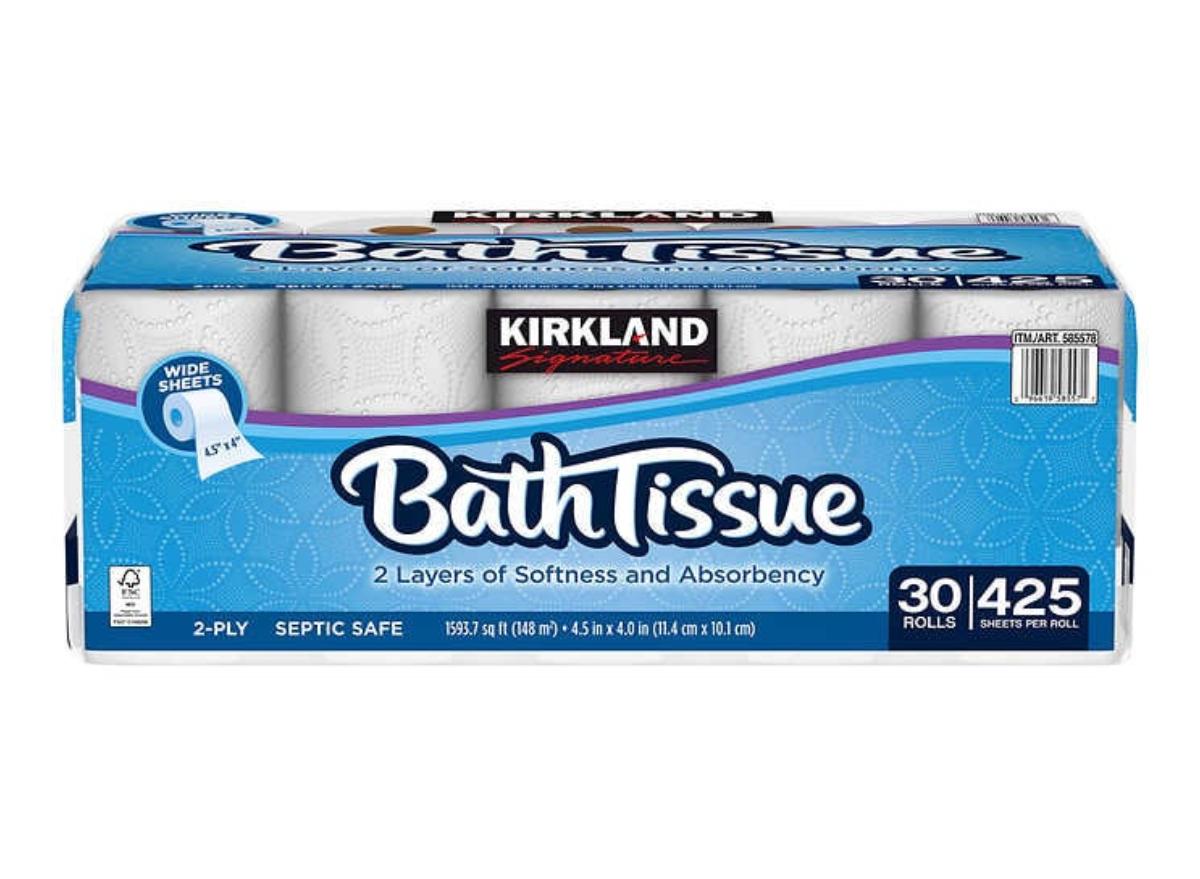 Costco Kirkland Bath Tissue