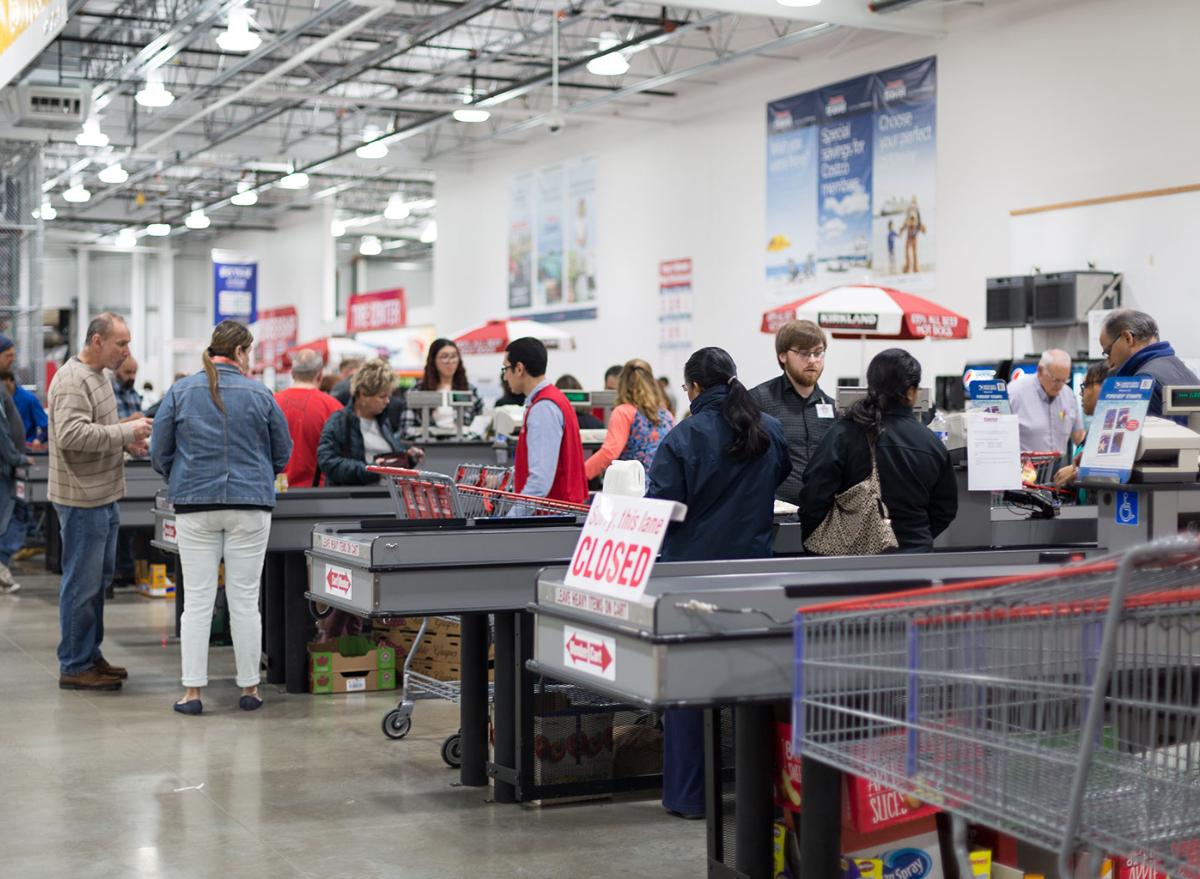 Costco checkout