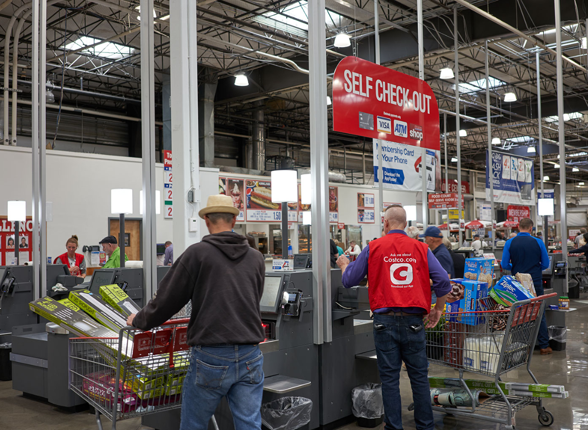 Costco self checkout