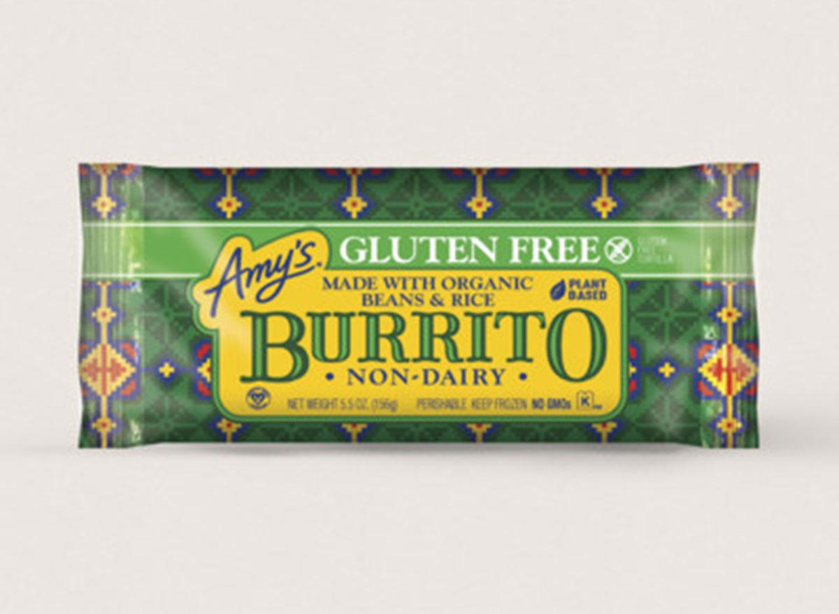 amys gluten free burrito