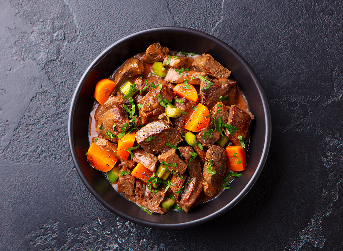 beef vegetable stew