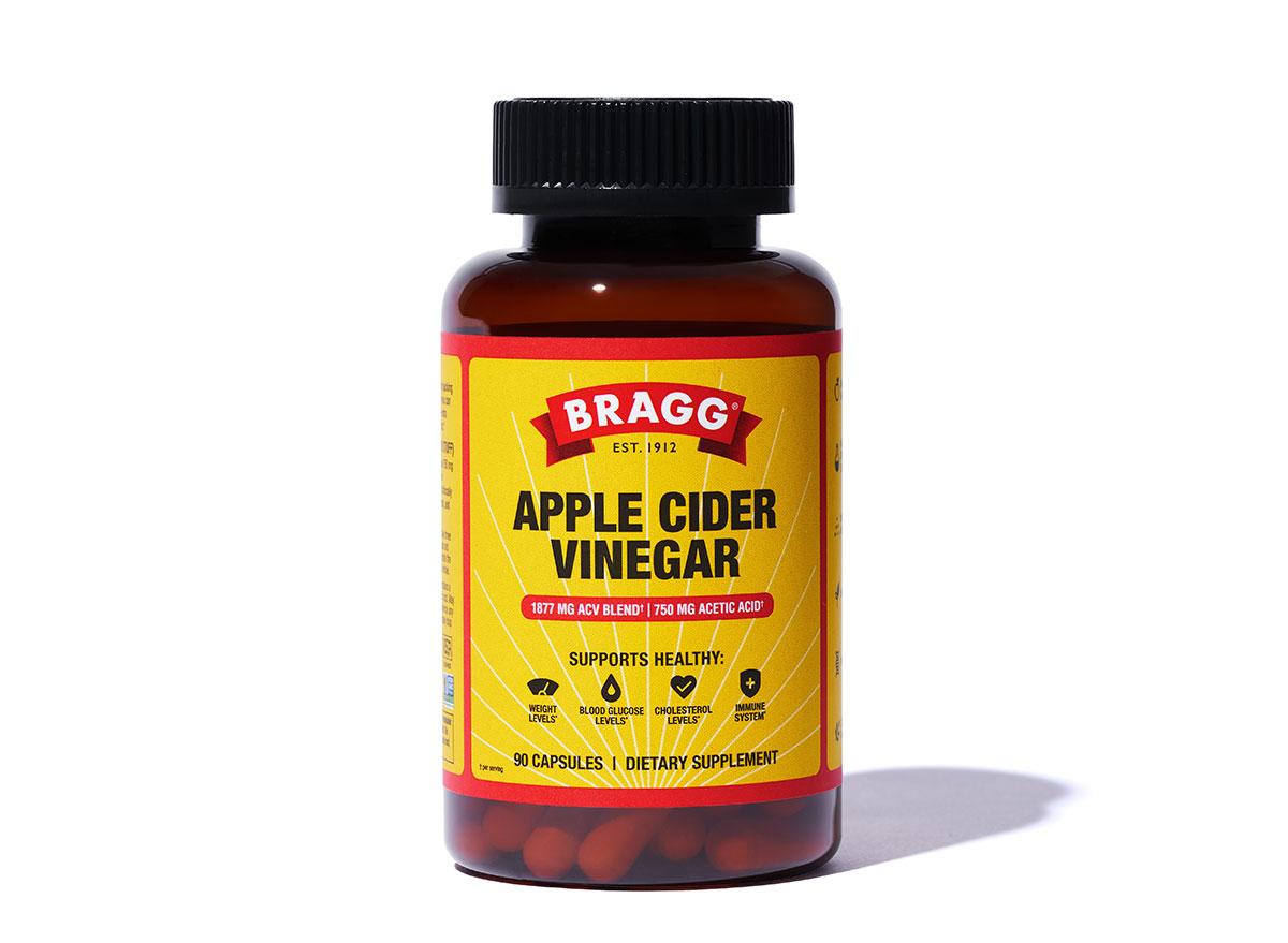 bragg apple cider vinegar supplement