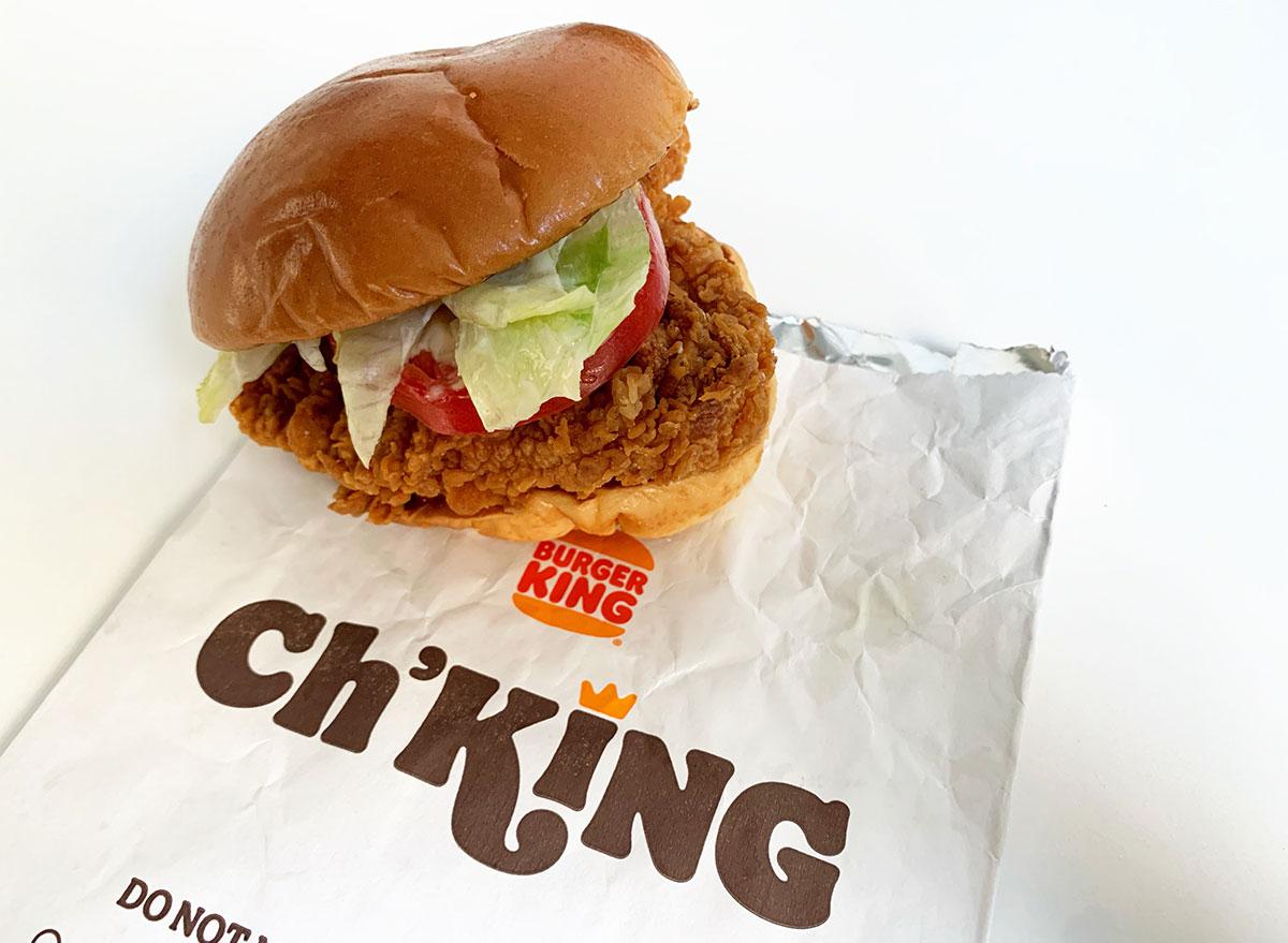 burger king chking