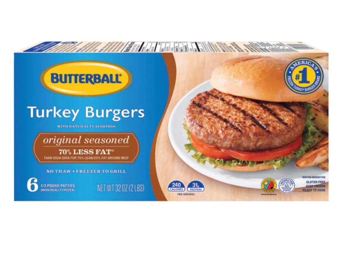 butterball turkey burgers