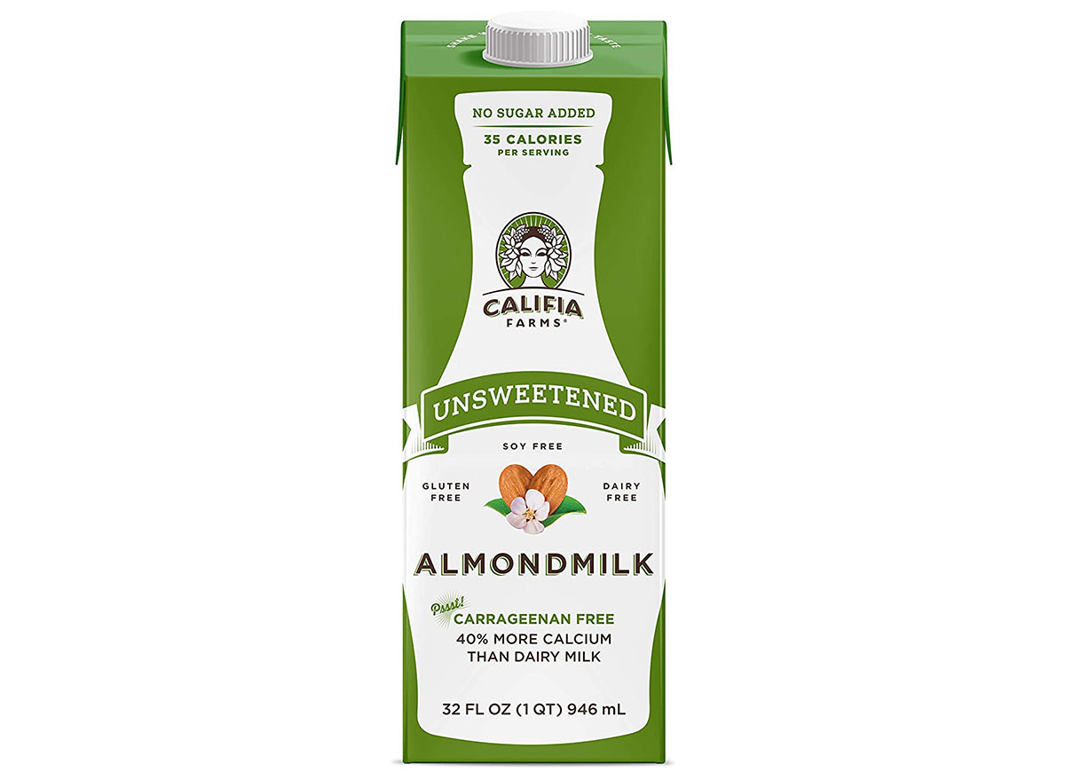 califia farms almondmilk