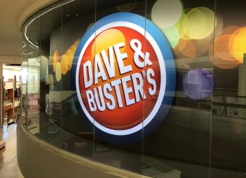 dave busters exterior