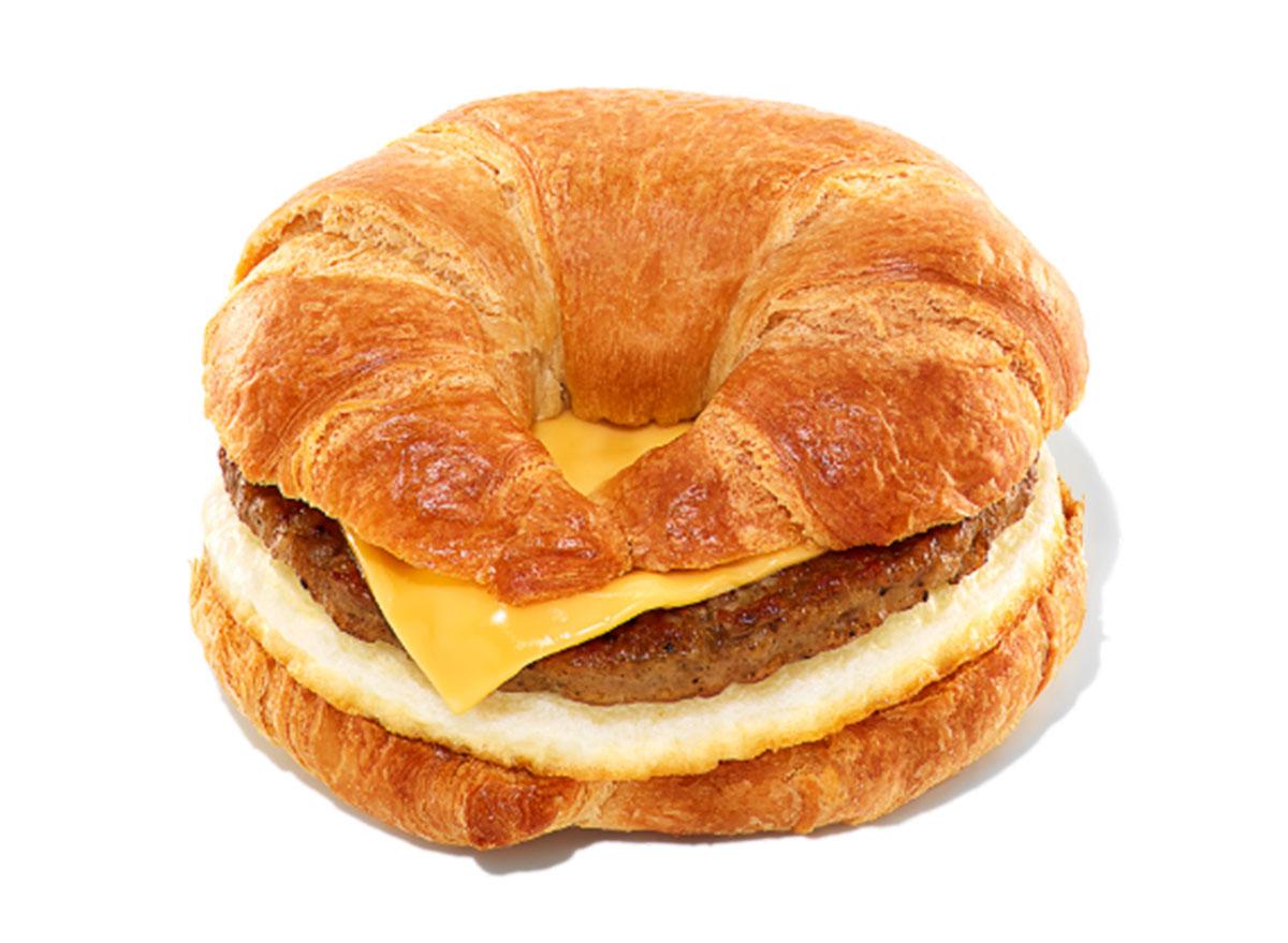 dunkin sausage egg cheese sandwich
