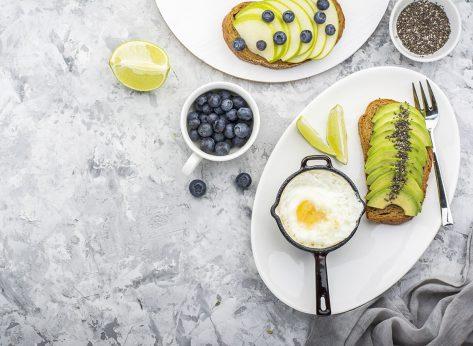 eggs avocado berries