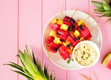 grilled watermelon pineapple