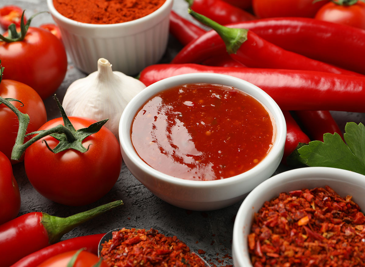 hot sauce small bowl