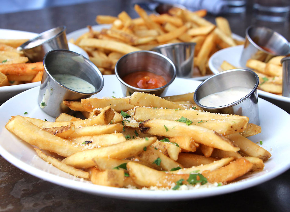 houlihans french fries
