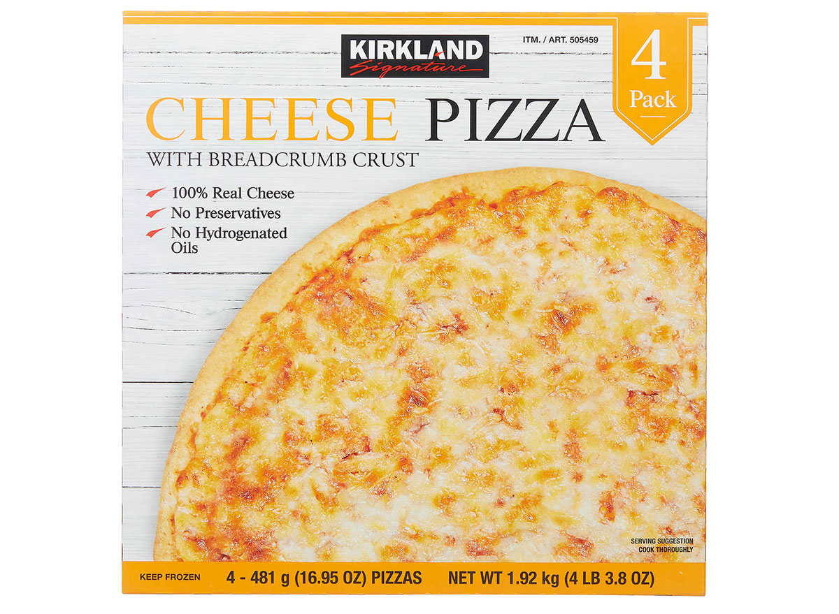 kirkland cheese pizza