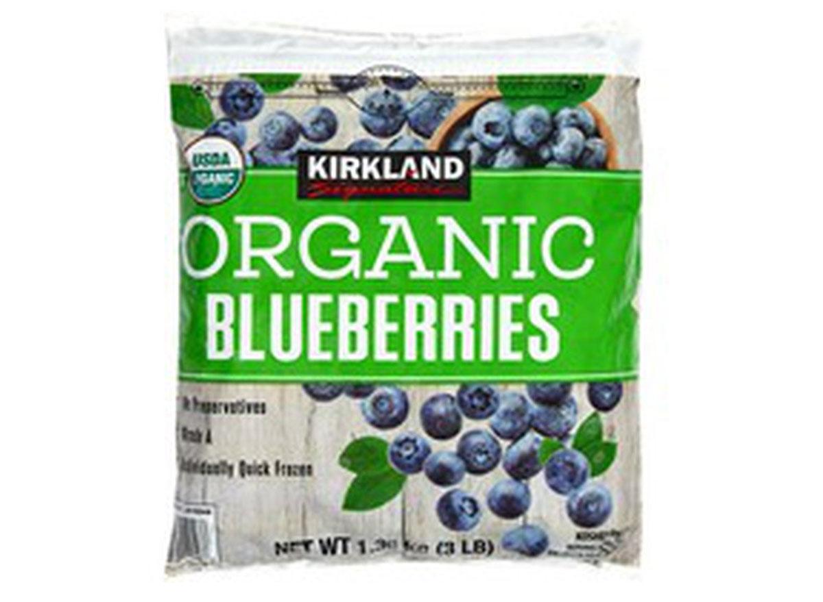 kirkland organic blueberries