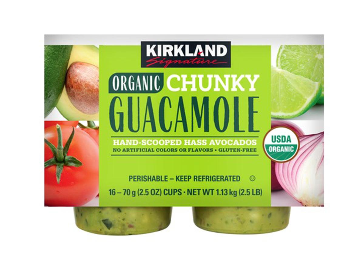 kirkland organic mini guacamole packets