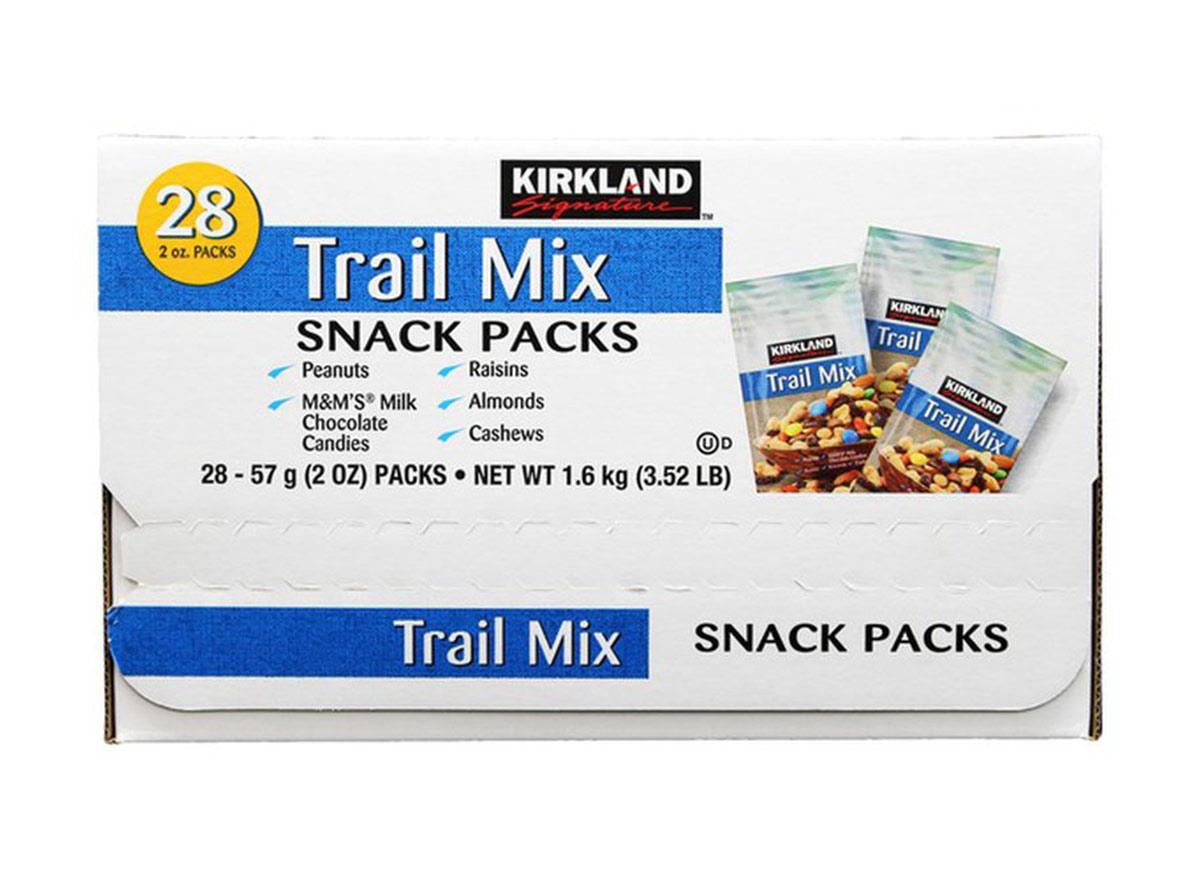 kirkland trail mix snack packs