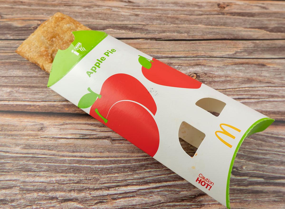 mcdonald apple pie