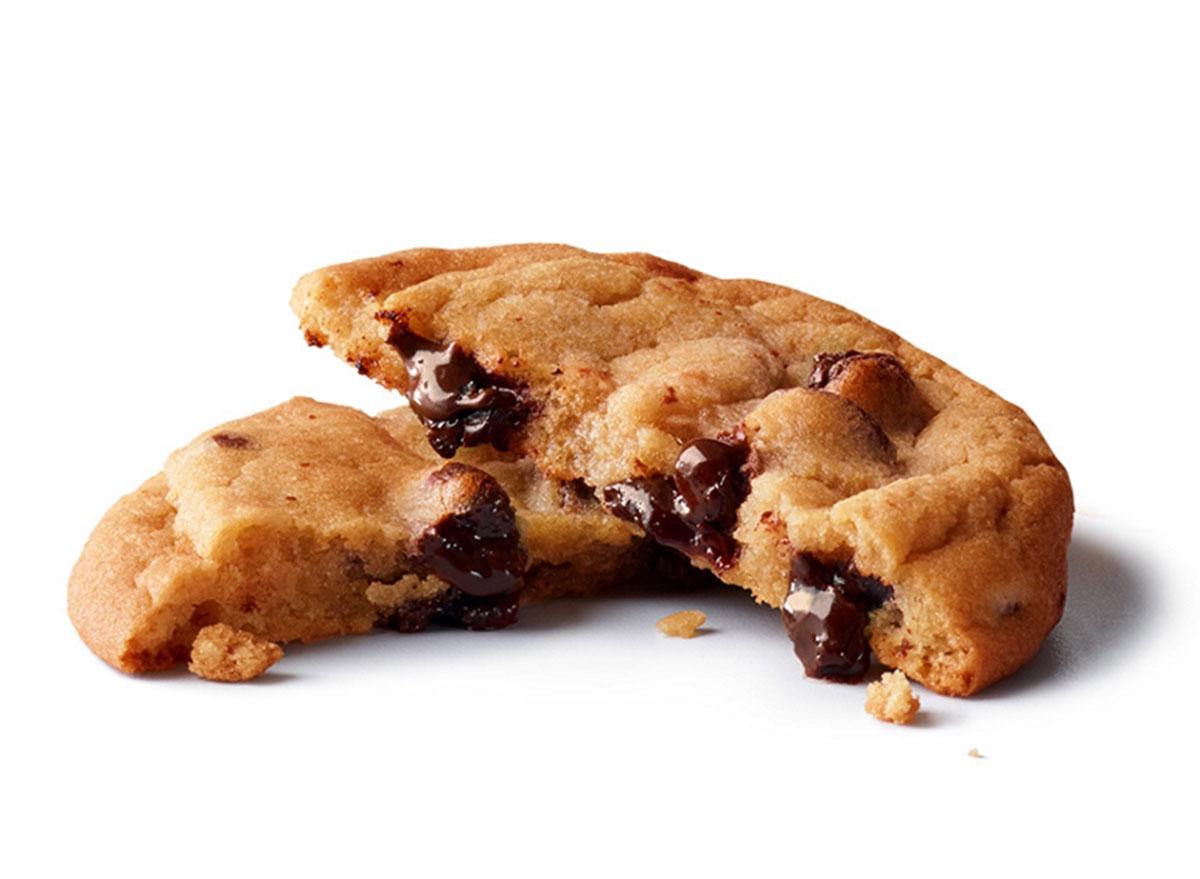 mcdonalds chocolate chip cookie